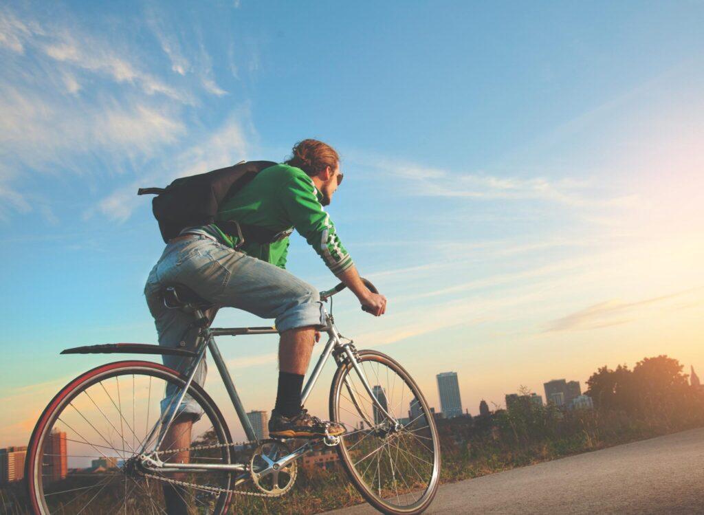 city cykling